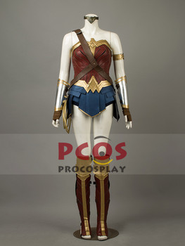 Justice League Film Wonder Woman Diana Prens Cosplay Kostüm mp003817