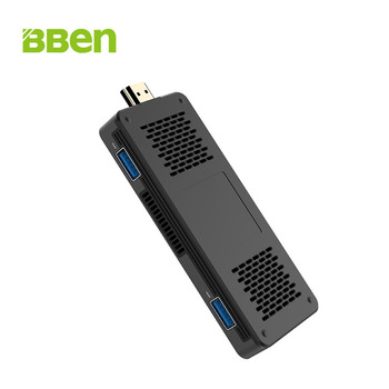 BBEN MN10A Mini PC Windows 10 IŞLETIM SISTEMI Intel N3350 CPU 3 GB 64 GB RAM/eMMC SD Kart Desteği LAN Portu WiFi BT4.0 TV Kutusu PC Sopa bilgisayar